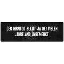 DER HIRNTOD BLEIBT JA BEI VIELEN Schild Spruch Geschenk...