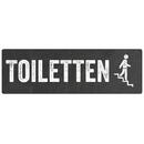 Türschild TOILETTEN *TREPPE RUNTER* WC-Schild...