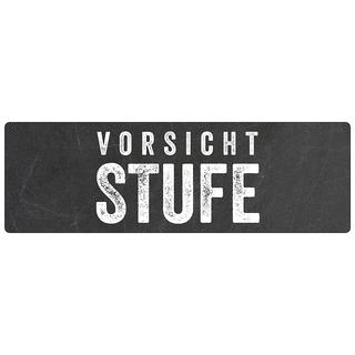 Hinweisschild Türschild VORSICHT STUFE wetterfest Warnschild Hinweisschild