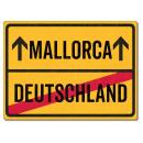 Schilderkönig Metallschild 28x20cm - Mallorca...