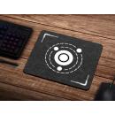 Schilderkönig Mauspad 23x19 cm - Solar System - rutschfestes Mauspad, Geometrie, Gaming, Space, Abstract