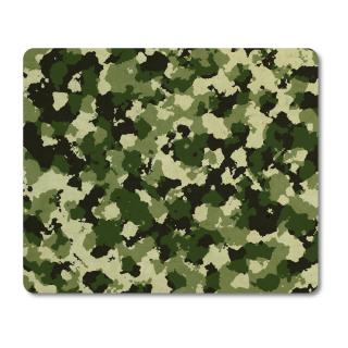 Schilderkönig Mauspad 23x19 cm - Camouflage Green - rutschfestes Mauspad, Gaming, Military, Militär