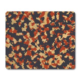 Schilderkönig Mauspad 23x19 cm - Camouflage Desert - rutschfestes Mauspad, Gaming, Military, Militär