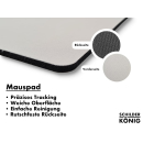 Schilderkönig Mauspad 23x19 cm - Shockwave - rutschfestes Mauspad, Gaming, Abstract, Geometrie